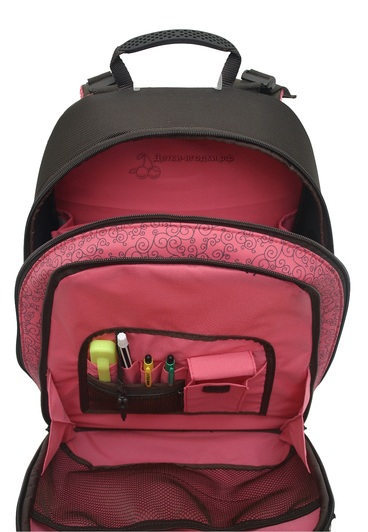 Школьный рюкзак Хамминберд T82 официальный, - фото 6