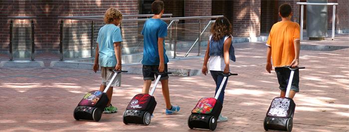 Рюкзак на колесиках Roller Nikidom White Fire XL арт. 9319 (27 литров), - фото 11