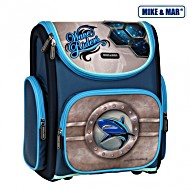 Школьный рюкзак раскладной Mike&Mar Майк Мар Акула 5040-ММ-16