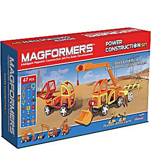 Магнитный конструктор Magformers Power Construction Set 47 деталей артикул 63090