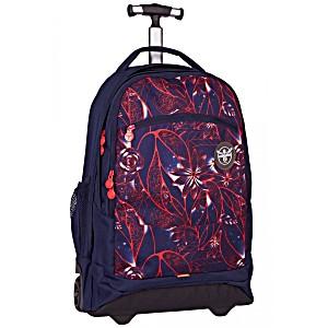 Подростковый рюкзак на колесах Chiemsee Гибискус