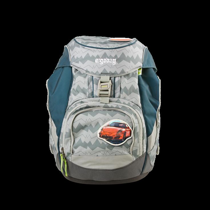 Рюкзак Ergobag BEARuckle up с наполнением + светоотражатели в подарок, - фото 2