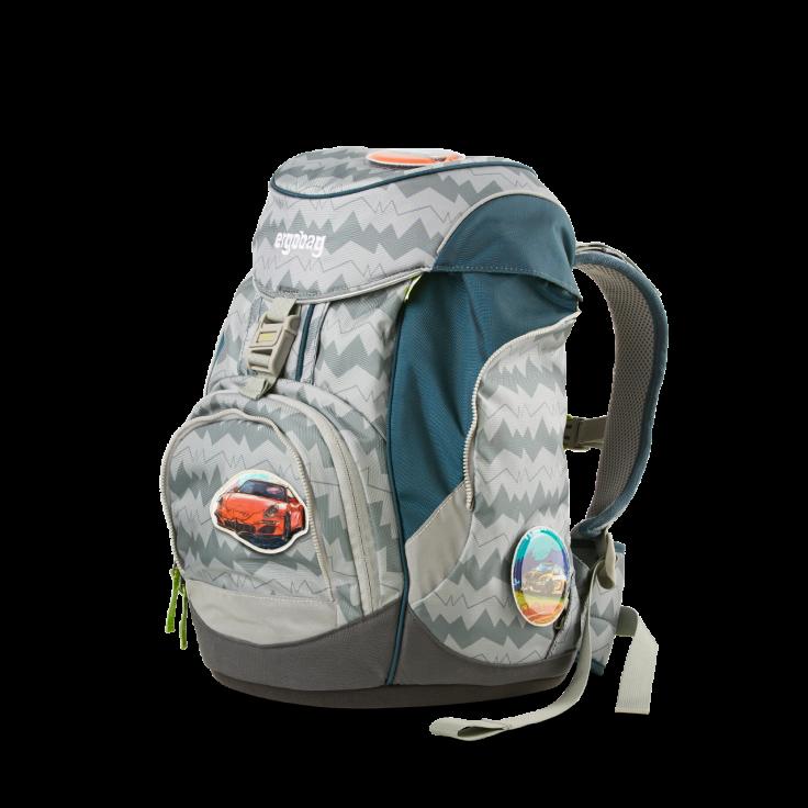 Рюкзак Ergobag BEARuckle up с наполнением + светоотражатели в подарок, - фото 3