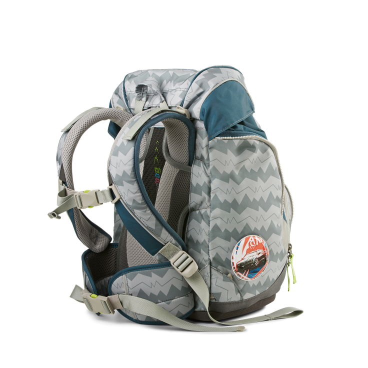 Рюкзак Ergobag BEARuckle up с наполнением + светоотражатели в подарок, - фото 4