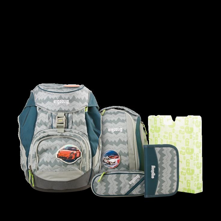 Рюкзак Ergobag BEARuckle up с наполнением + светоотражатели в подарок, - фото 1