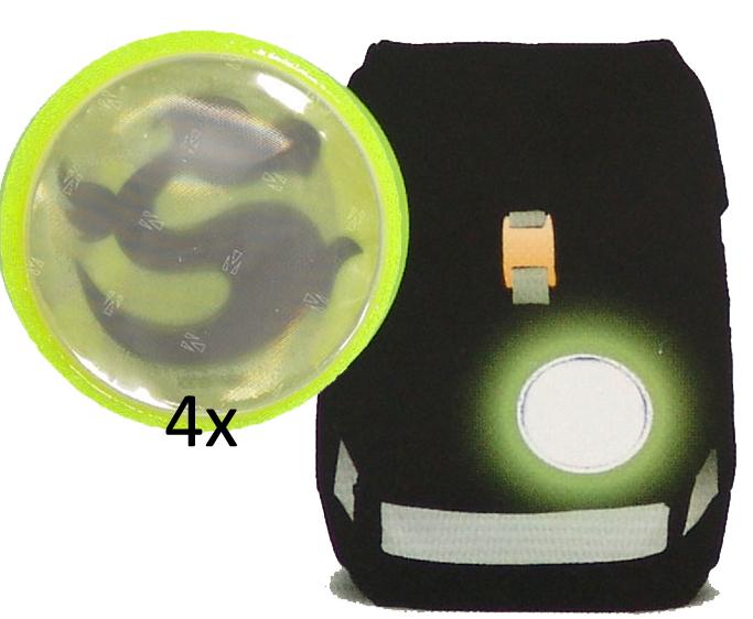 Рюкзак Ergobag BEARuckle up с наполнением + светоотражатели в подарок, - фото 23