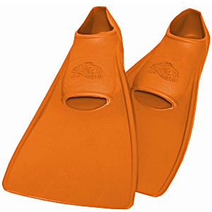 Ласты ProperCarry детские закрытая пятка для бассейна резиновые размер – 24 оранжевые ПРОПЕРКЭРРИ
