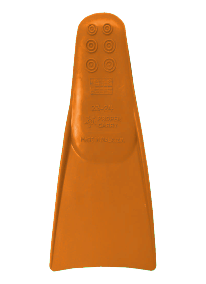 Ласты для грудничкового плавания ProperCarry оранжевые 23-24, - фото 2